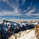 Panorama dolomitico  by Andrea Rapisarda