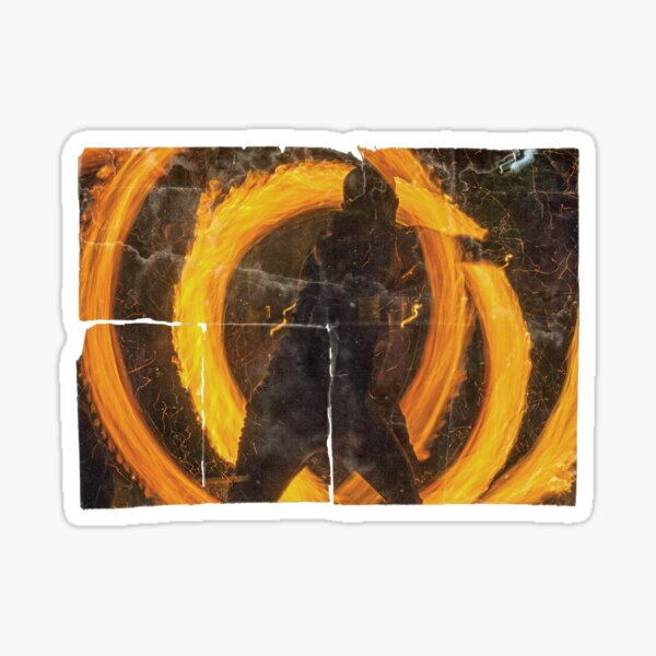 fire bender Sticker