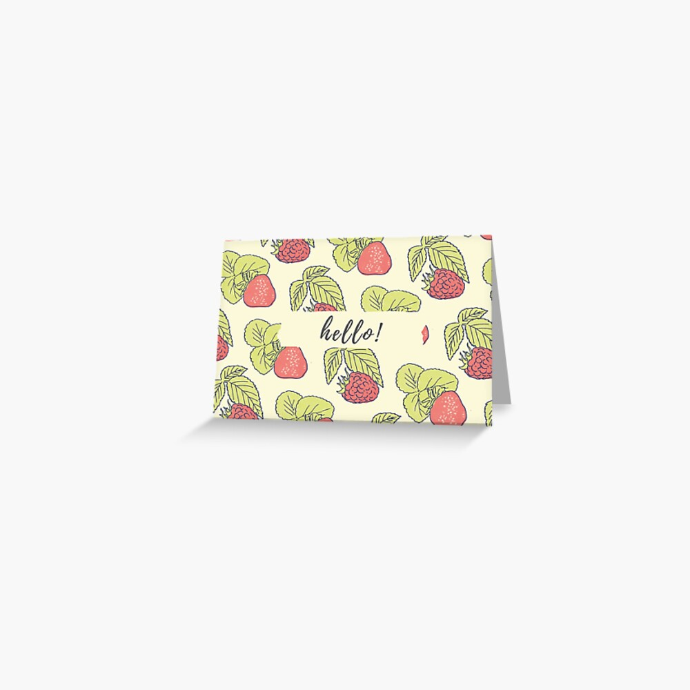 Berry Fields - Any Occassion Card Greeting Card