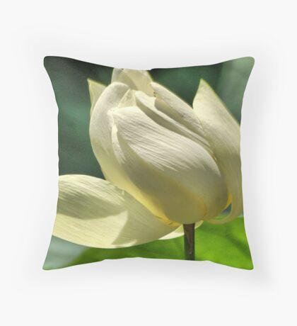 Hope equal Lotus Throw Pillow