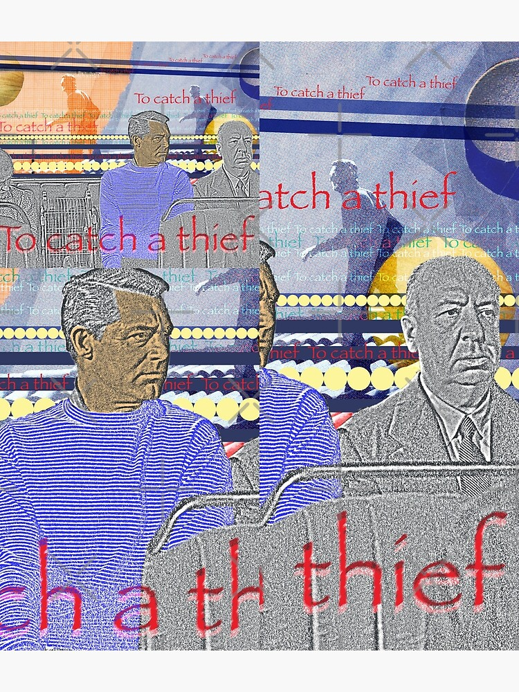Alfred Hitchcock, To catch a thief by Mauswohn
