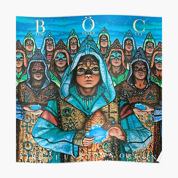 Blue Oyster Cult - Fire Of Unknown Origin Poster