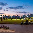Golf Course Sunset by Sebastian Opitz