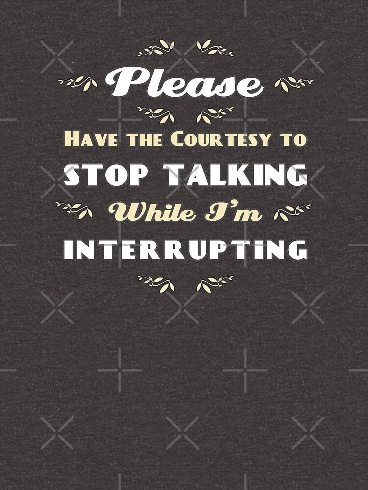 Stop Talking by daveRei