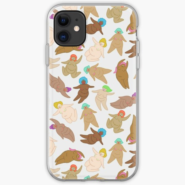 Naked Fat Ladies iPhone Soft Case