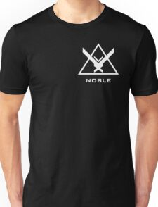 NOBLE Insignia (White) Unisex T-Shirt