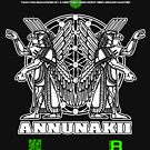 ANNUNAKII - DEC 2012 - OFFICIAL MERCH by David Avatara