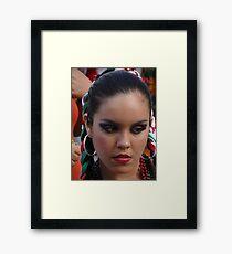Mexican Beauty - Belleza Mexicana Framed Print