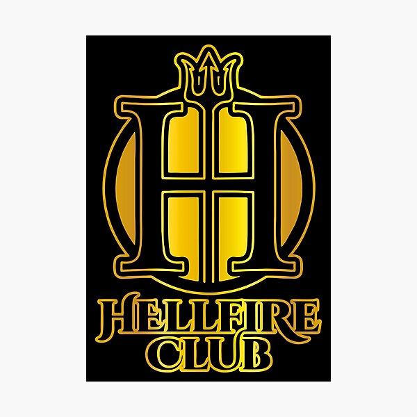 The golden hellfire  Photographic Print