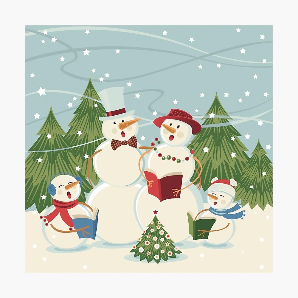 Christmas Song Photographic Print