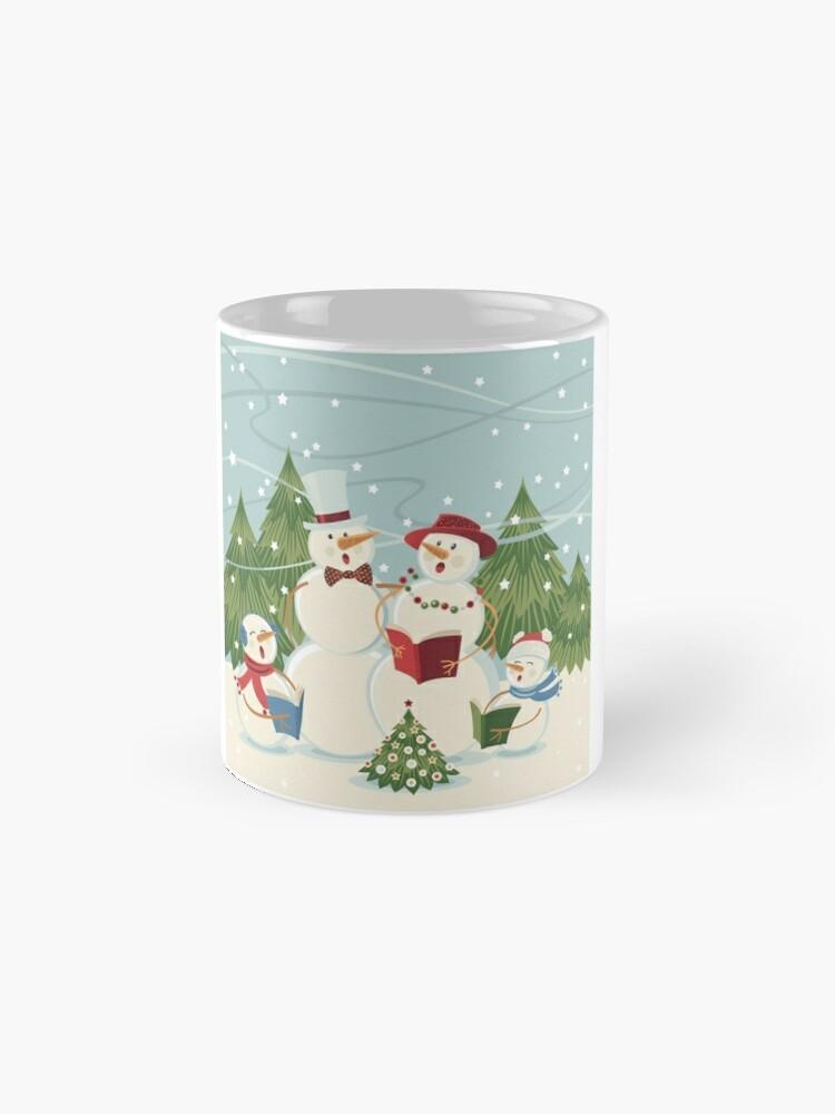 Alternate view of Christmas Song Mug