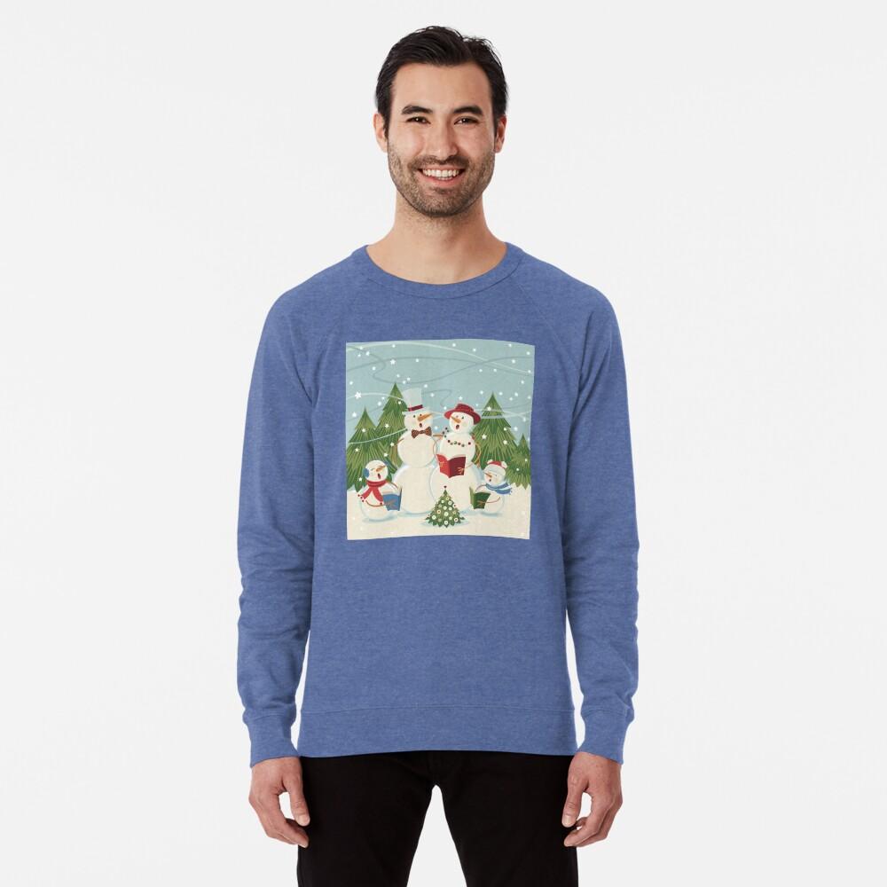 Christmas Song Lightweight Sweatshirt