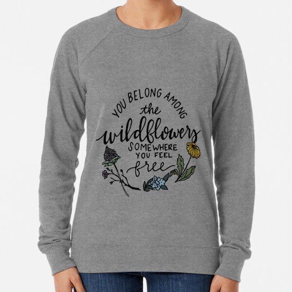 Among the Wildflowers Lightweight Sweatshirt