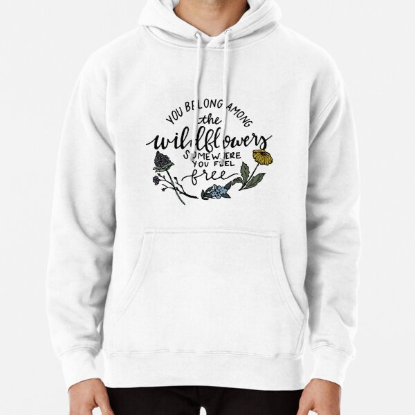Among the Wildflowers Pullover Hoodie