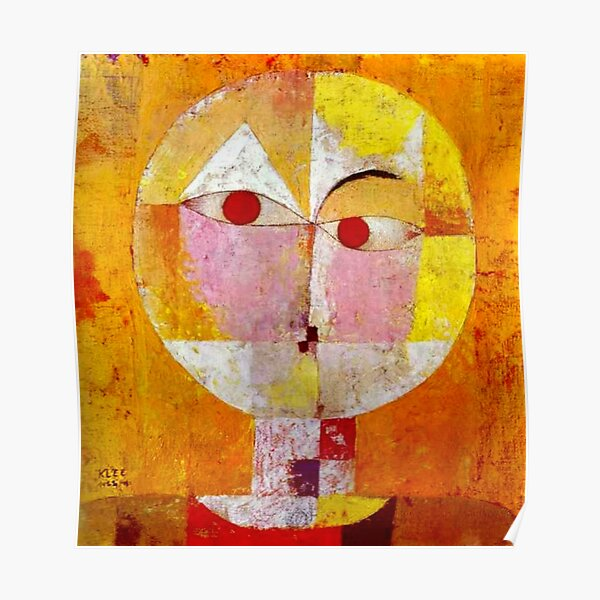 """Senecio"" | Art chef-d'œuvre de Paul Klee Poster"