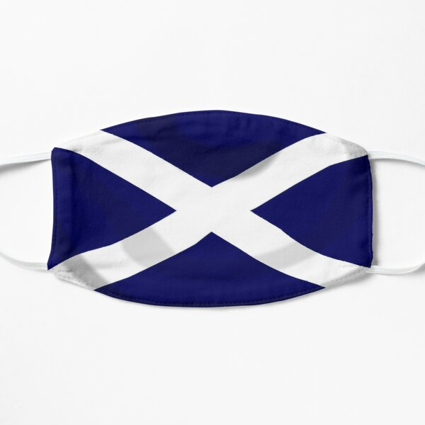 SALTIRE FLAG. FULL COVER. Scotland, Flag of Scotland, Scottish Flag, Saltire, SNP, S.N.P, Scottish Independence, Scots. Flat Mask