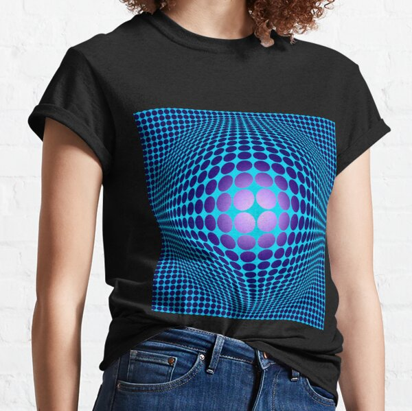 Victor Vasarely Homage 61 Classic T-Shirt