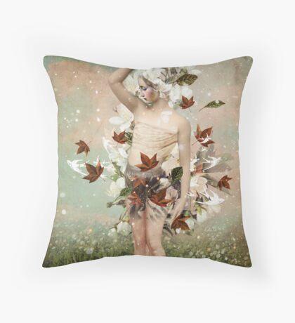 Little Snowflake Throw Pillow