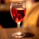 Mungos - Blurred Glass of Rose by rsangsterkelly