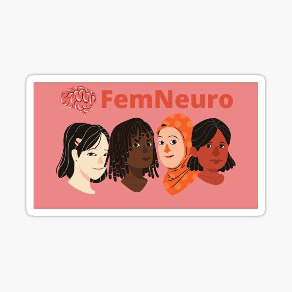 FemNeuro Banner Sticker Sticker