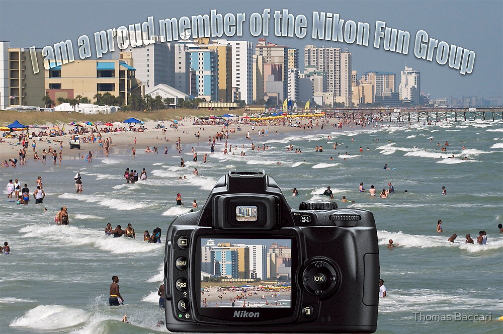 Proud Member of the Nikon Fun Group Banner by TJ Baccari Photography