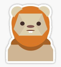 Ewok Appreciation Sticker