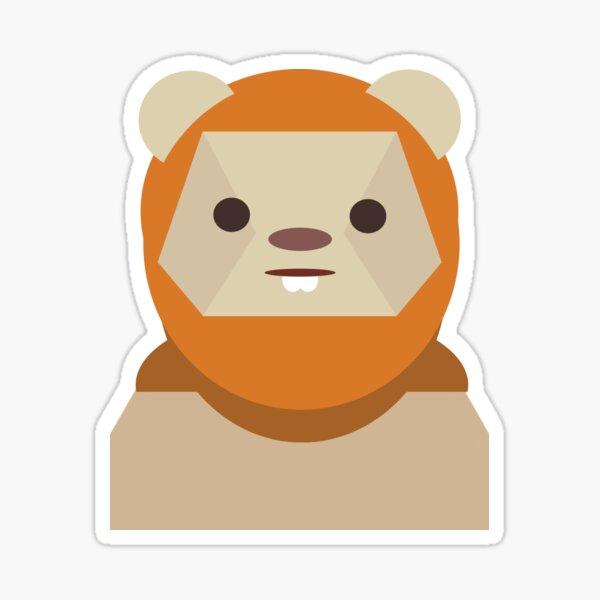 Ewok Appreciation Sticker