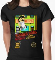 Burger Boss Women's Fitted T-Shirt