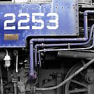 Blue Locomotive by mps2000