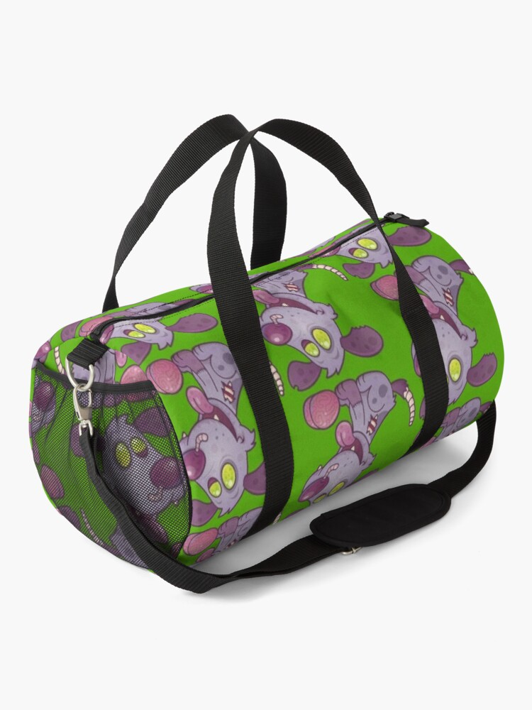 Alternate view of Zombie Puppy Duffle Bag