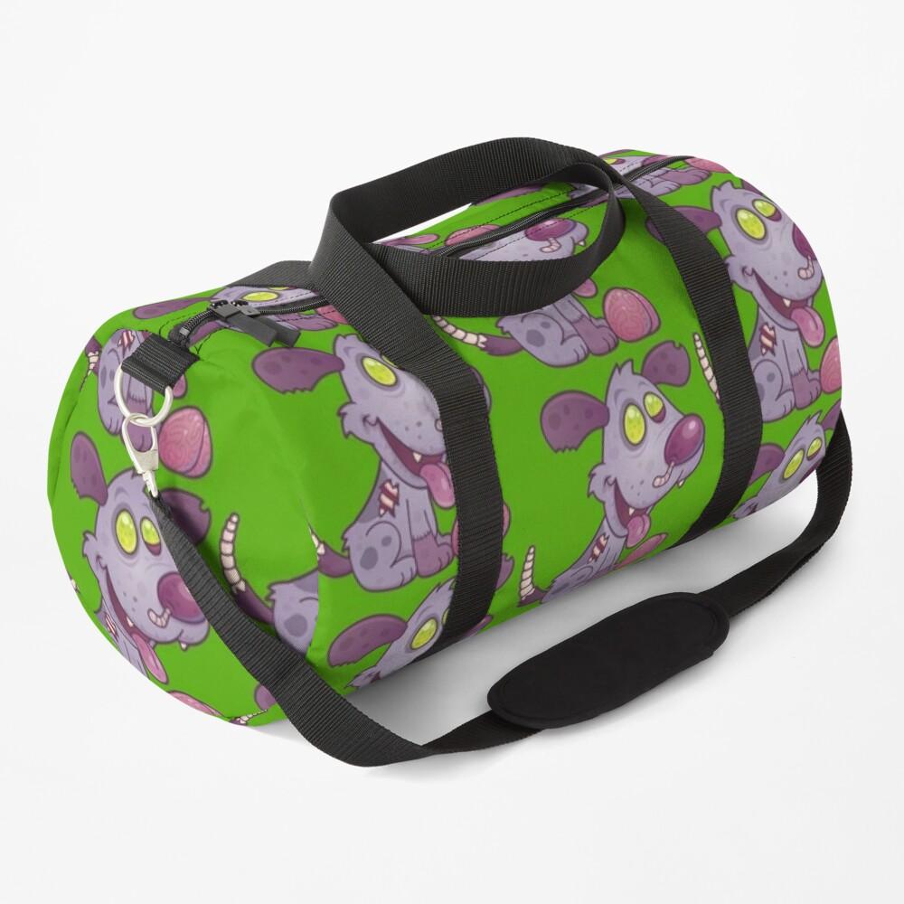 Zombie Puppy Duffle Bag