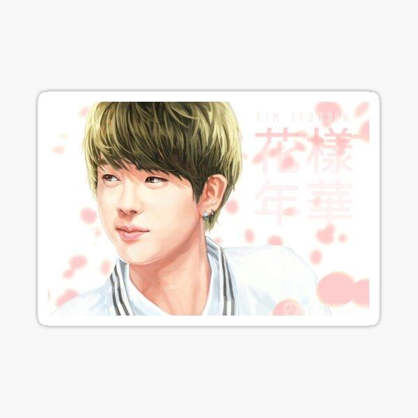 Kim Seokjin - 花樣年華 Sticker