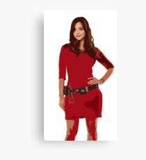 Oswin, The Impossible Girl Canvas Print