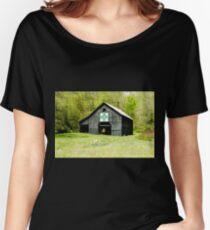Kentucky Barn Quilt - Darting Minnows Women's Relaxed Fit T-Shirt