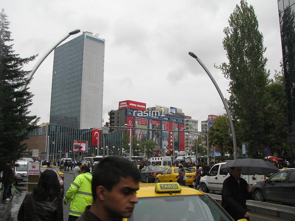 Kızılay square,Ankara by rasim1