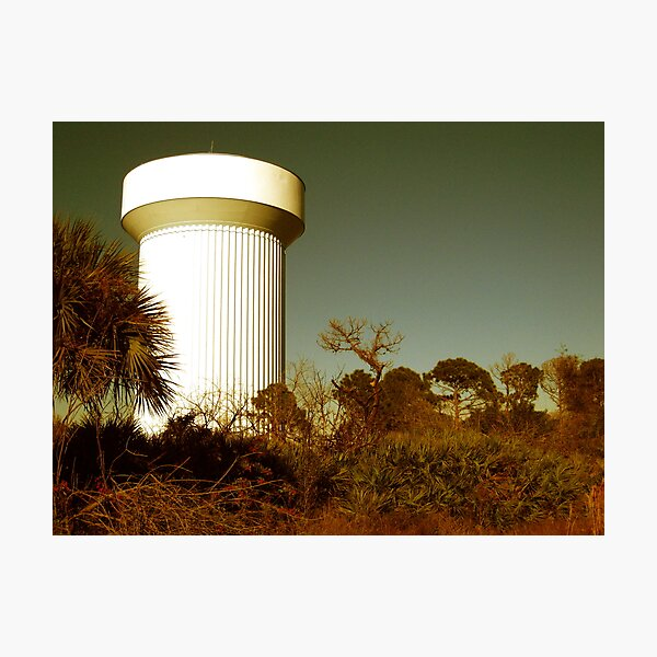 Water Tower Photographic Print