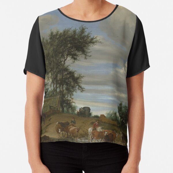 A Country Road Chiffon Top