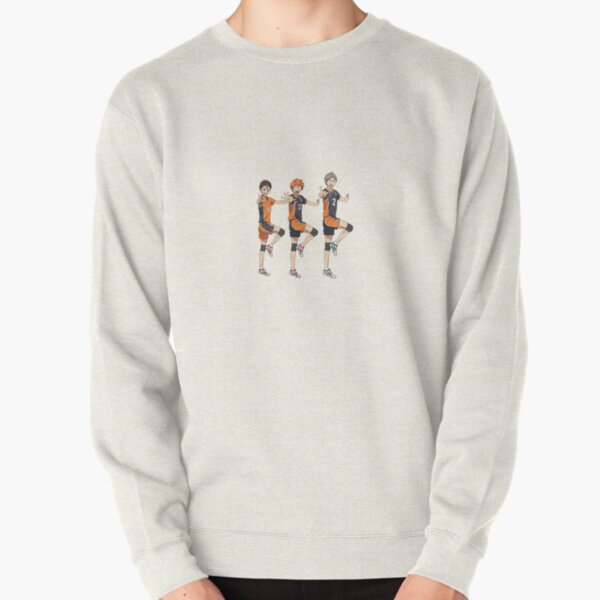 haikyuu hype up Pullover Sweatshirt