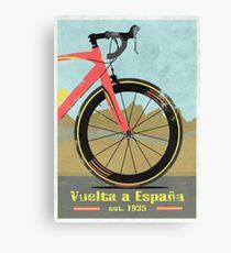 Vuelta a España Bike Leinwanddruck