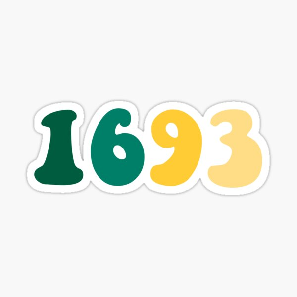 1693 William and Mary Sticker