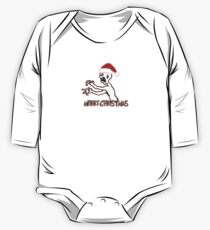 Grr, Argh Christmas One Piece - Long Sleeve