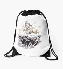 THERE ARE NO BARGAINS HERE Drawstring Bag