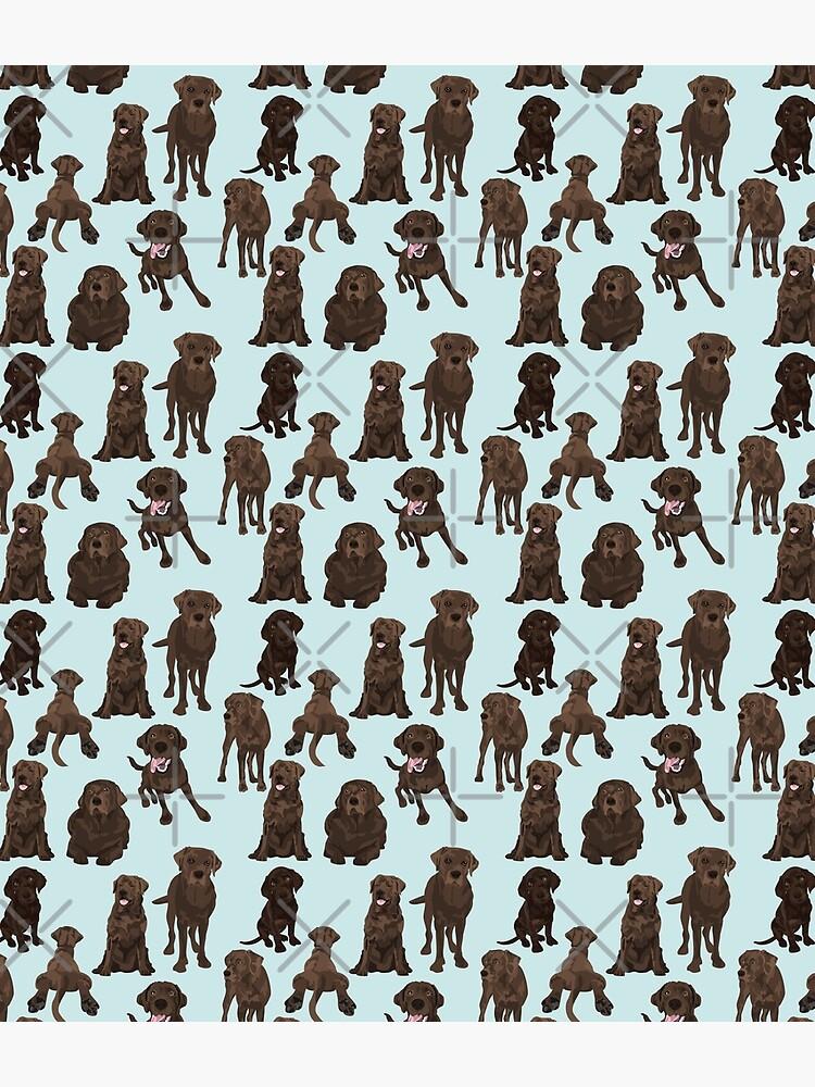 Chocolate Lab by ArtofACoonhound