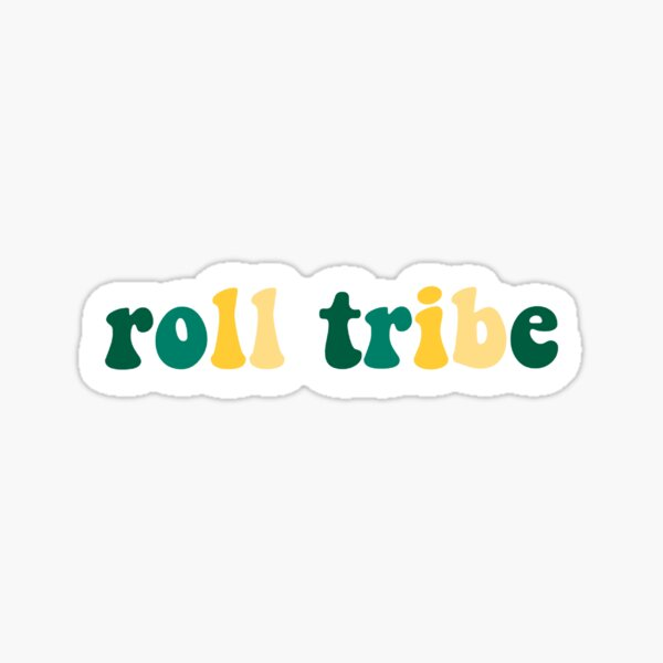William and Mary roll tribe Sticker