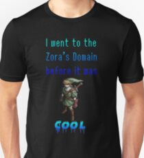 Hipster Link Zora's Domain Unisex T-Shirt