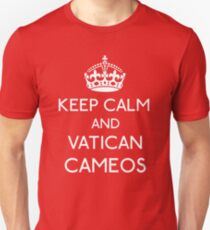 Keep Calm and Vatican Cameos T-Shirt