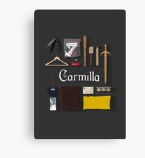 Carmilla Items Canvas Print