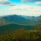 Blue Ridge Parkway in Virginia by Fred Moskey