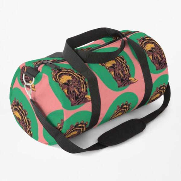Cool Hawk Headed Parrot - Pop Art - Illustration Duffle Bag