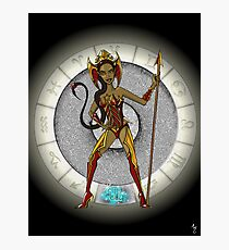 Scorpio Goddess Photographic Print